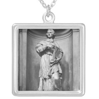 Francois de Salignac de La Mothe-Fenelon  1777 Silver Plated Necklace