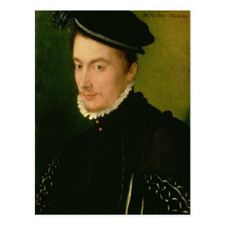 Francois de Valois , Duke of Alencon, 1560s Postcard