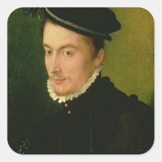 Francois de Valois , Duke of Alencon, 1560s Square Sticker