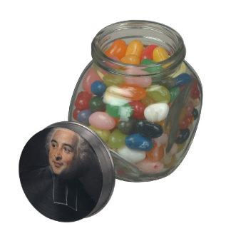 François-Emmanuel Pommyer by Maurice de La Tour Jelly Belly Candy Jars