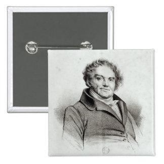 Francois Eugene Vidocq Button