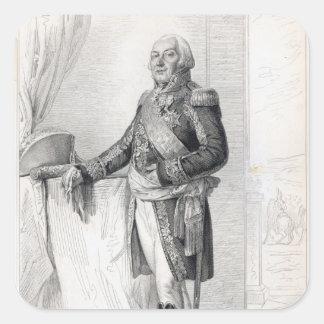 Francois-Henri de Franquetot de Coigny Square Sticker