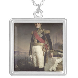 Francois-Horace  Count Sebastiani, 1841 Silver Plated Necklace