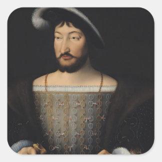 Francois I 2 Square Sticker