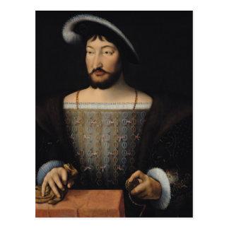 Francois I 2 Tarjetas Postales