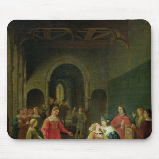 Francois I  Presented to Louis XII Mouse Pad