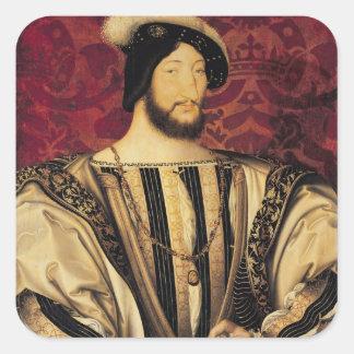 Francois I Square Sticker