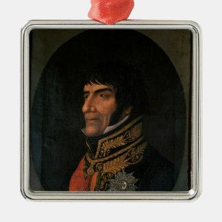 Francois Lefebvre  Duke of Dantzig Metal Ornament