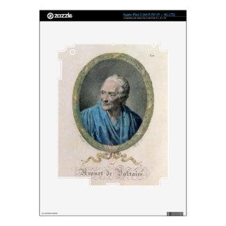 Francois Marie Arouet de Voltaire (1694-1778) engr Decals For iPad 3