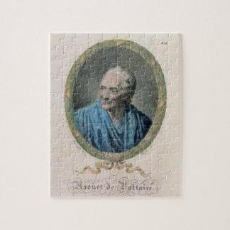Francois Marie Arouet de Voltaire (1694-1778) engr Puzzle