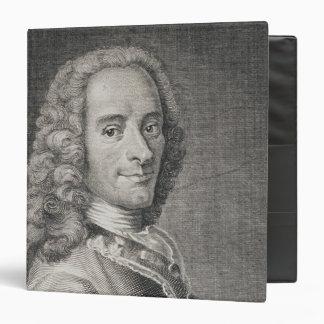 """Francois Marie Arouet de Voltaire Carpeta 1 1/2"""""""