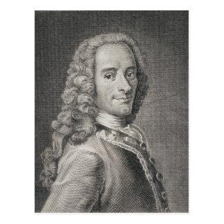 Francois Marie Arouet de Voltaire Postcard