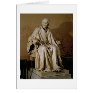Francois-Marie Arouet Voltaire (1694-1778) 1781 (m Greeting Card