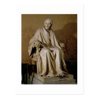 Francois-Marie Arouet Voltaire (1694-1778) 1781 (m Postcard