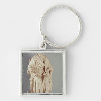 Francois Marie Arouet Voltaire  1778 Keychain