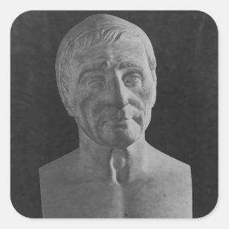Francois Marius Granet, 1851 Square Sticker