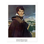 Francois-Marius Granet By Jean Auguste Ingres Post Cards