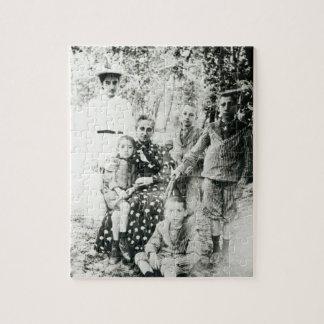 Francois Mauriac (1885-1970) como niño (foto de b/ Puzzle Con Fotos
