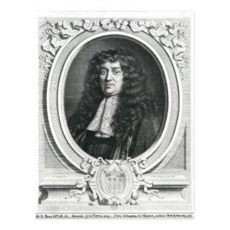 Francois-Michel Le Tellier Postcard