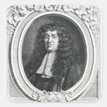 Francois-Michel Le Tellier Square Stickers