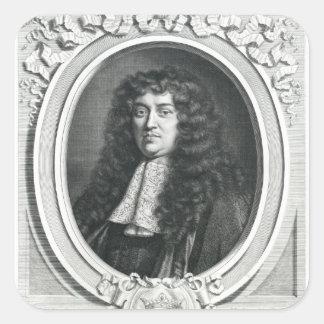 Francois-Michel Le Tellier Square Sticker