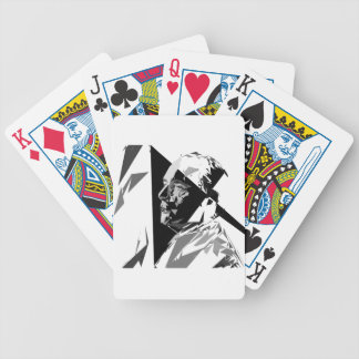 François Mitterrand Bicycle Playing Cards