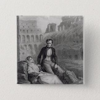 Francois Rene  Vicomte de Chateaubriand Pinback Button