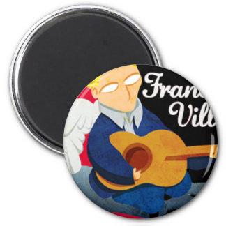 Francois Ville Logo (Stedy Salino) Imán Redondo 5 Cm