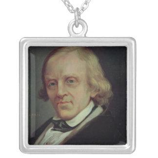 Francois Vincent Raspail  1849 Silver Plated Necklace