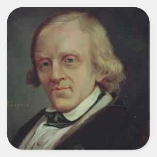 Francois Vincent Raspail  1849 Square Sticker