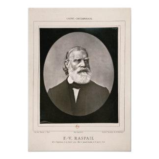 François-Vincent Raspail L.L.D., M.D. Portrait Invite