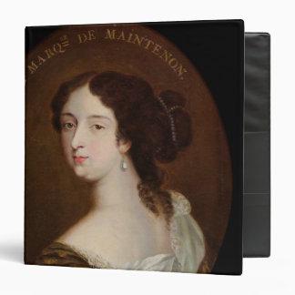 Francoise d'Aubigne  Marquise de Maintenon 3 Ring Binder