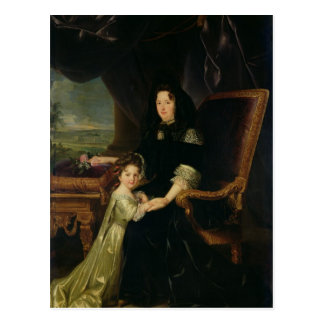 Francoise d'Aubigne Marquise of Maintenon Postcard