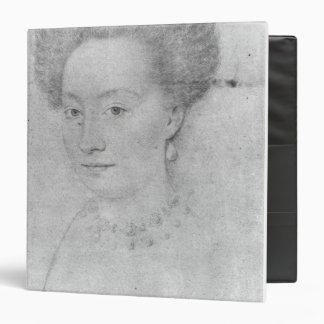 "Francoise de Montmorency Carpeta 1 1/2"""