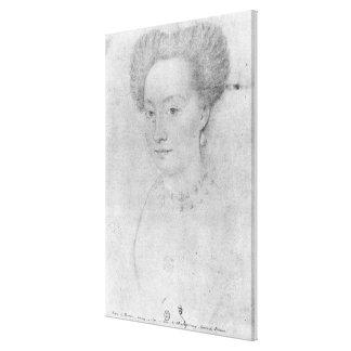 Francoise de Montmorency Lienzo Envuelto Para Galerías