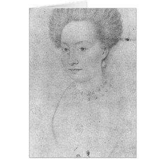 Francoise de Montmorency Tarjeta De Felicitación