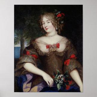 Francoise de Sevigne  Countess of Grignan Poster