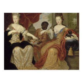 Francoise Marie de Blois Postcard