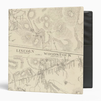 Franconia, Lincoln, Woodstock 3 Ring Binder