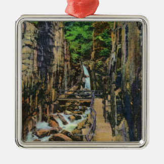 Franconia Notch State Park Metal Ornament