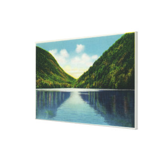 Franconia Notch State Park View of Profile Lake Gallery Wrapped Canvas