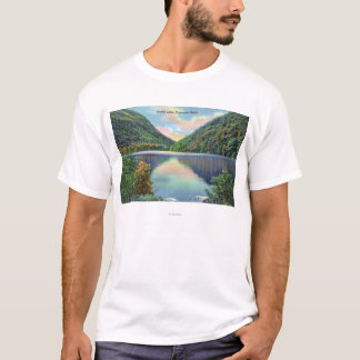 Franconia Notch View of Profile Lake T-Shirt