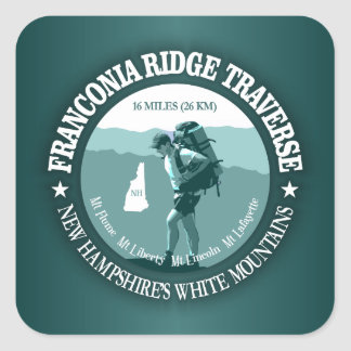 Franconia Ridge Traverse Square Sticker