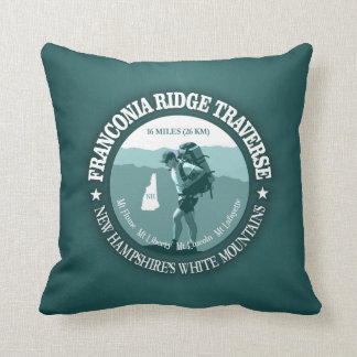 Franconia Ridge Traverse Throw Pillow
