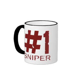 Francotirador #1 tazas de café