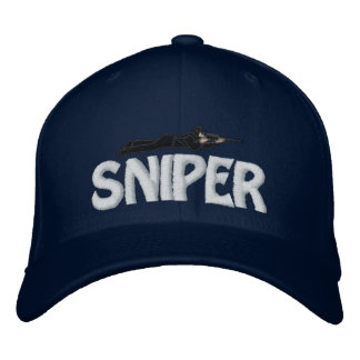 Francotirador adaptable del casquillo del gorra de gorra de béisbol bordada