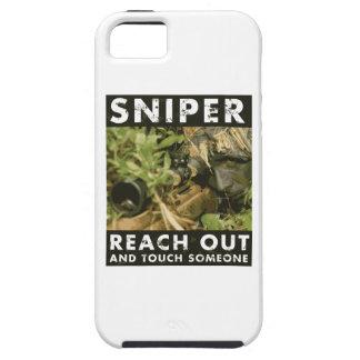 Francotirador - alcance hacia fuera iPhone 5 Case-Mate fundas