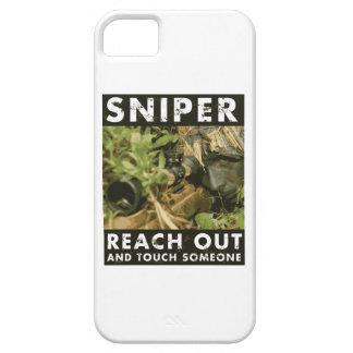 Francotirador - alcance hacia fuera iPhone 5 cárcasa
