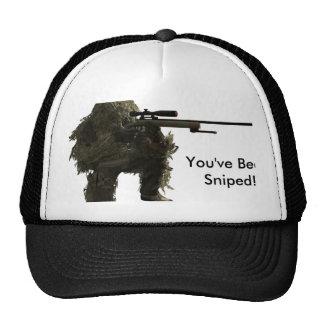 francotirador gorra