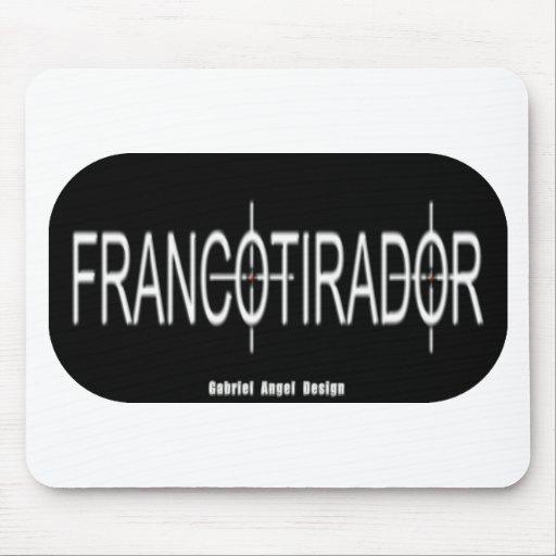 Francotirador Alfombrillas De Ratones